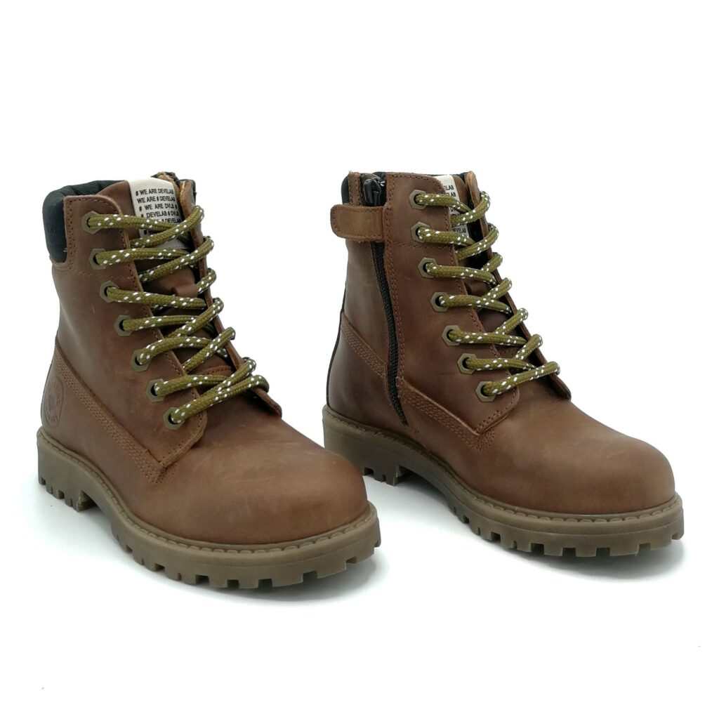 Develab bottines veterschoenen jongens