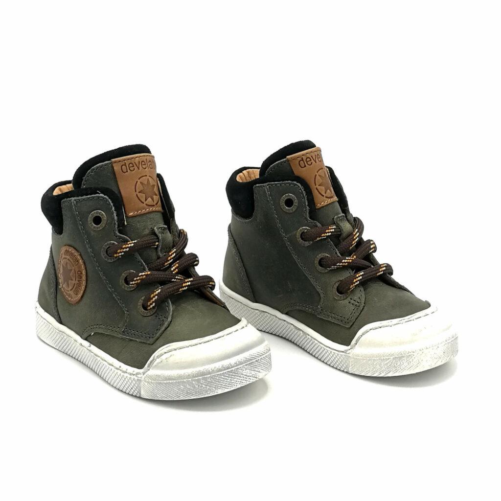Develab veterschoenen sneakers eerste stappers jongens