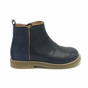 Ocra meisjesschoenen enkellaars blauw